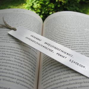 Zakładka do książki Grzegorz Brzęczyszczykiewicz