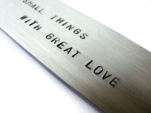 Zakładka Do small things with great love