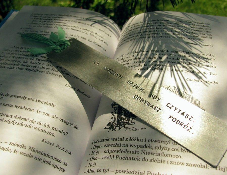 Zakładka - Za każdym razem, gdy czytasz, odbywasz podróż