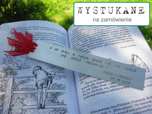 Zakładka do książki - prezent dla przyjaciółki