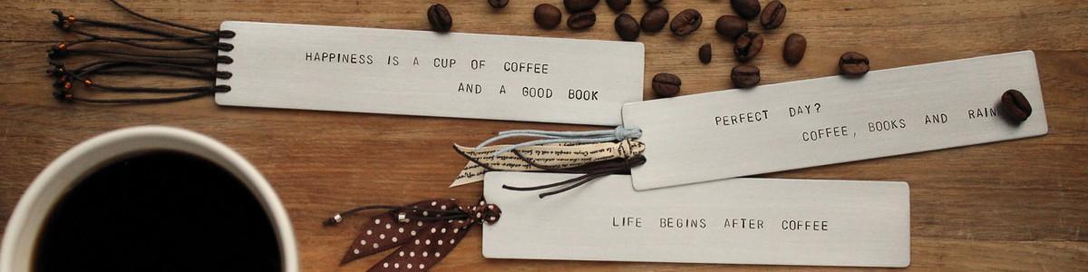 Zaprojektuj własną zakładkę do książki z napisem