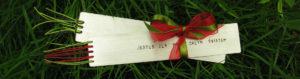 Zakładka do książki - pomysł na prezent świąteczny