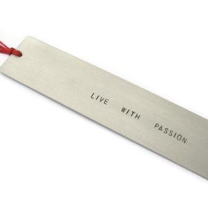 Zakładka do książki Live with passion