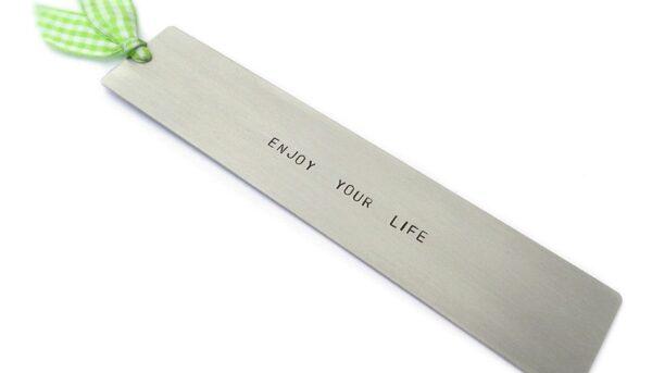Zakładka do książki Enjoy your life