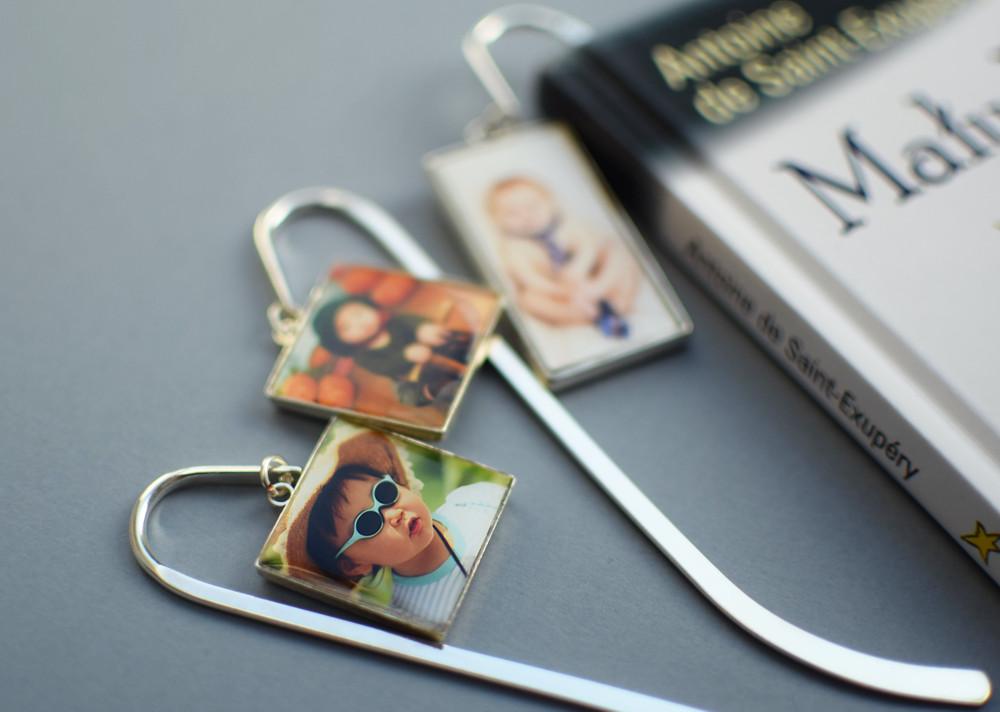 Zakładki do książek ze zdjęciami dzieci - na zamówienie