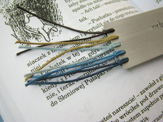 Zakładka do książki - myślenie nie jest łatwe, ale można się do niego przyzwyczaić