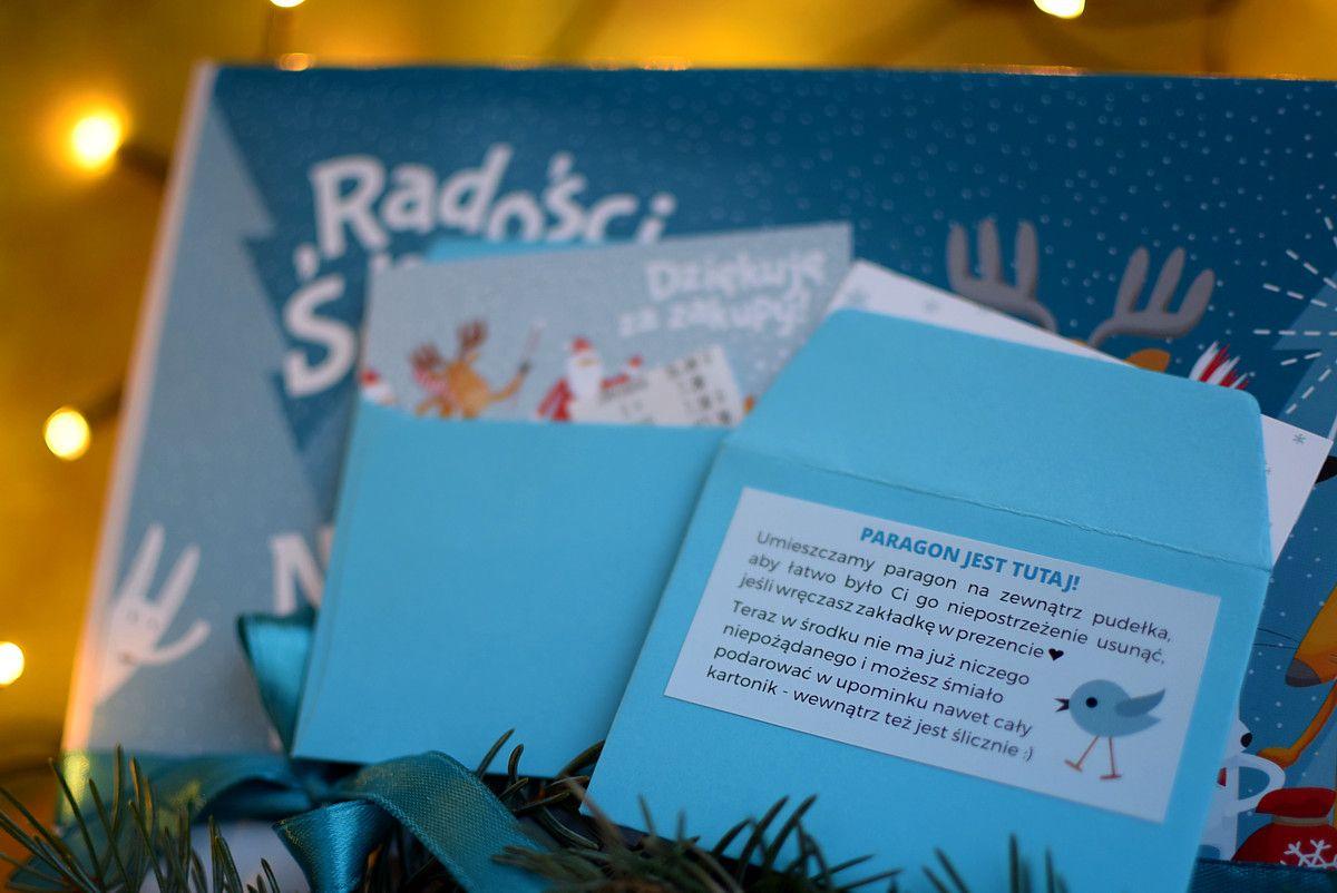 Świąteczne opakowanie zakladek do książek