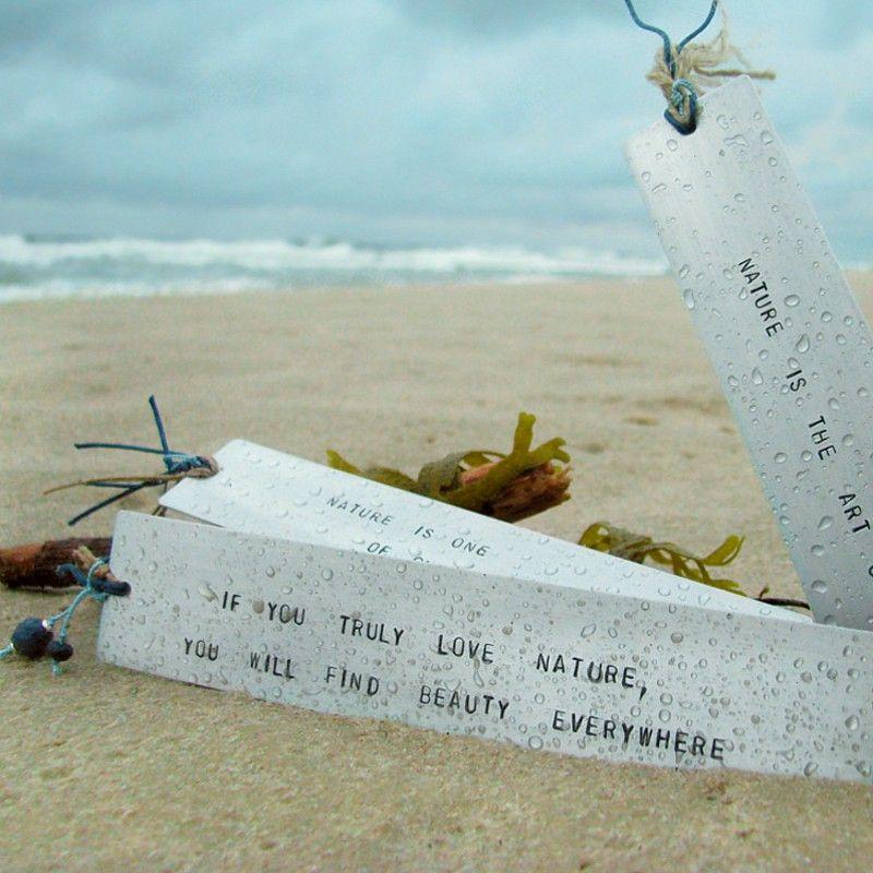 Zakładki do książek - natura i morze